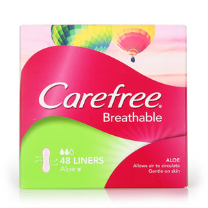Carefree Breathable Aloe Flat 48pcs