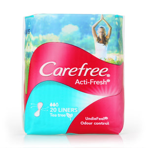 Carefree Acti-fresh Tea Tree 20pcs