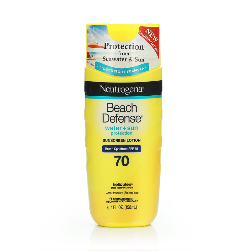 Neutrogena Beach Defense Sunscreen Lotion SPF70 198ml