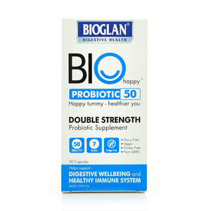 Bioglan Bio Happy Probiotic 50 Double Strength 30caps