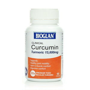 Bioglan Clinical Curcumin Turmeric 15,800mg 60 tabs