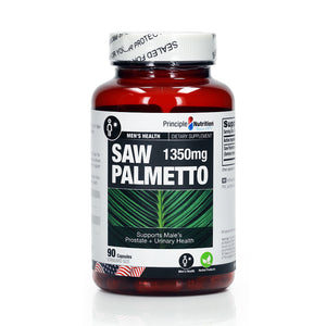 Principle Nutrition Saw Palmetto 450mg 90pcs