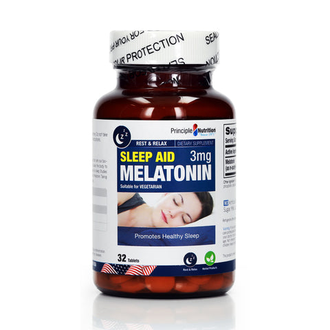 Principle Nutrition Sleep Aid Melatonin 3mg (32/70tabs)