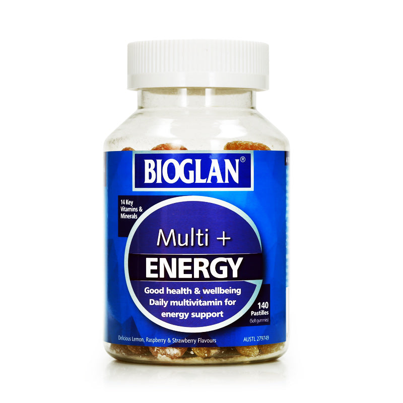Bioglan Multi Energy Gummies 140 pastilles