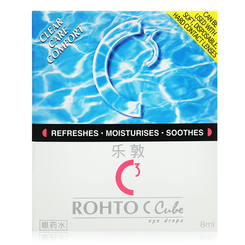 Rohto C Cube Eye Drops 8 ml