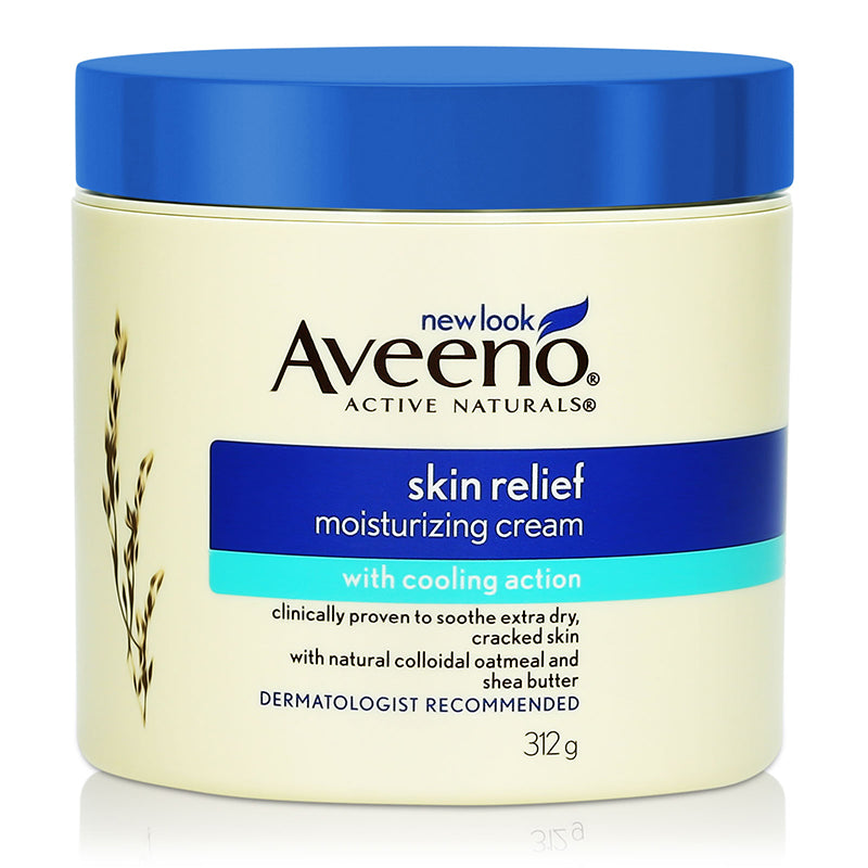Aveeno Skin Relief Moisturizing Cream with Cooling Action 312g
