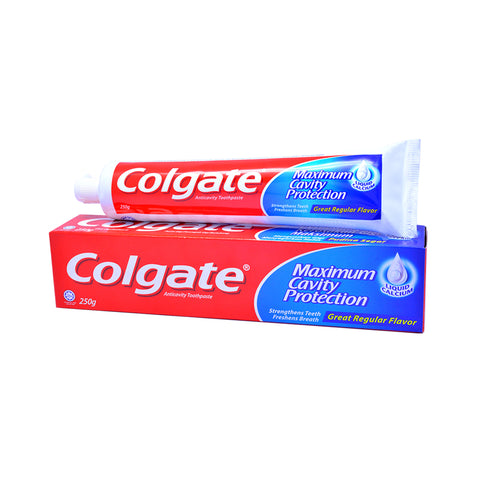 Colgate Maximum Cavity Protection Toothpaste 250g - Fresh Cool Mint / Great Regular / Icy Cool Mint