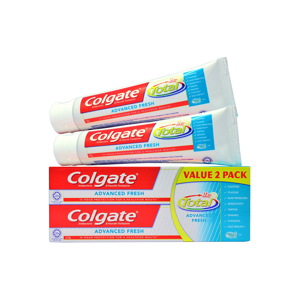 Colgate Total Toothpaste Twinpack 110g / 150g