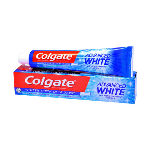 Colgate Advanced Whitening Toothpaste 90g / Twinpack 160g