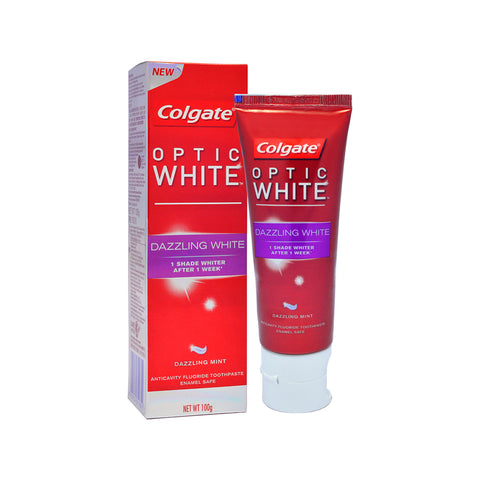 Colgate Optic White Toothpaste 100g - Dazzling / Instant White / Plus Shine / Sparkling White