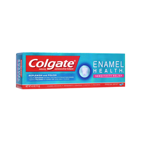 Colgate Enamel Health Sensitivity Relief / Whitening Toothpaste 113g