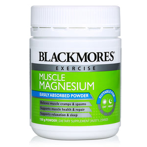 Blackmores Muscle Magnesium Powder 150g