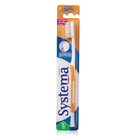 Systema Gum Care Toothbrush Regular Head