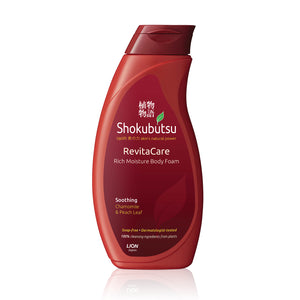 Shokubutsu RevitaCare Body Foam 200ml