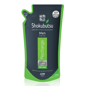 Shokubutsu Men Body Foam 600ml