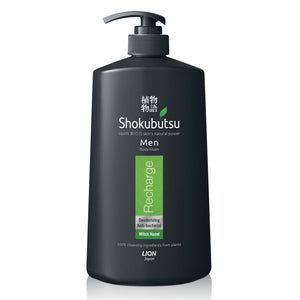 Shokubutsu Men Body Foam 900ml