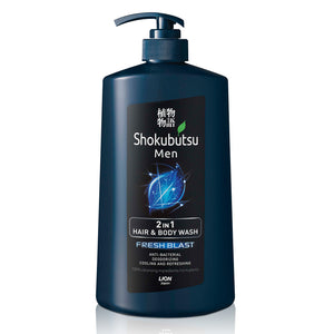 Shokubutsu Men 2-in-1 Hair & Body Wash 850ml