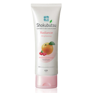 Shokubutsu Radiance Facial Foam 100ml