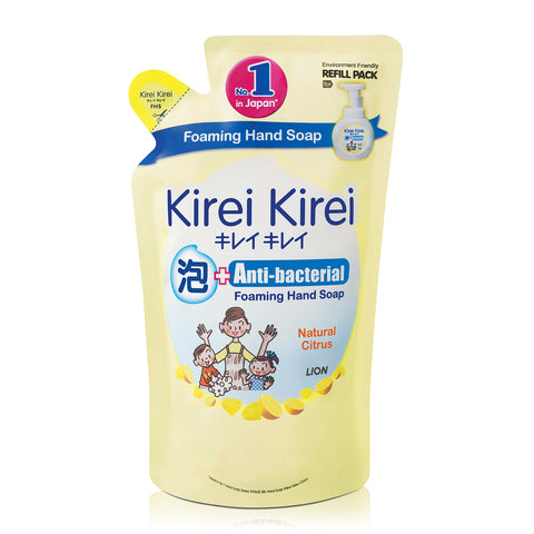Kirei Kirei Anti-Bacterial Foaming Hand Soap Refill 200ml