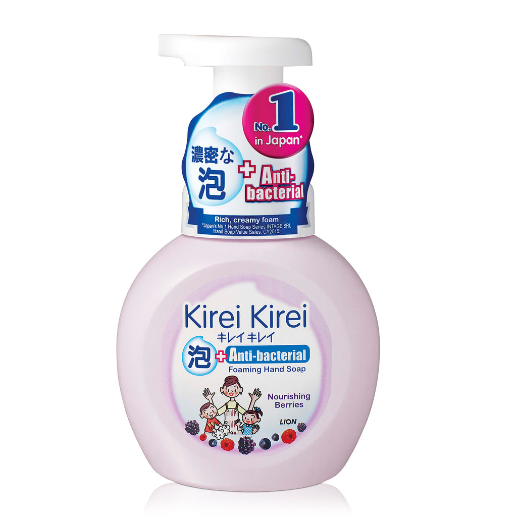Kirei Kirei Anti-Bacterial Foaming Hand Soap 250ml