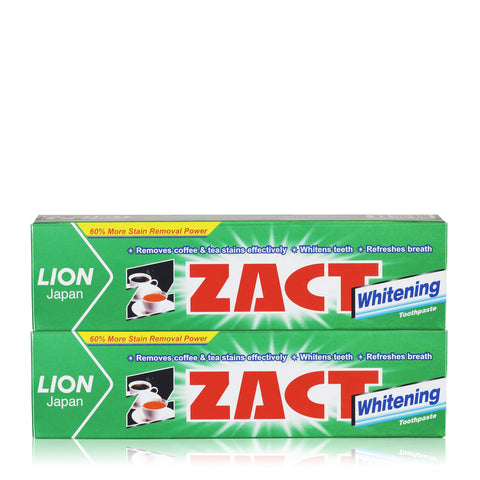 Zact Toothpaste Twin Pack 150g