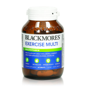 Blackmores Exercise Multi 60 Tablets