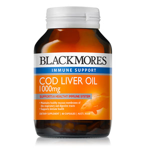 Blackmores Cod Liver Oil 1000mg