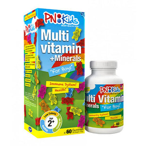 PN Kids MultiVitamin + Minerals 60pcs (Boys/Girls)