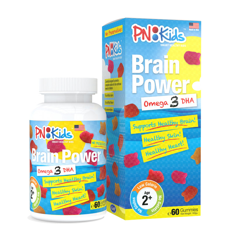PN Kids Brain Power Omega 3 DHA 60pcs