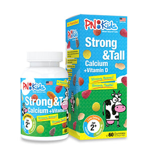 PN Kids Strong & Tall Calcium + Vitamin D 60pcs