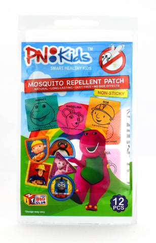 PN Kids Mosquito Repellent Patch 12 pcs (Little Big Club/Mozie Away)