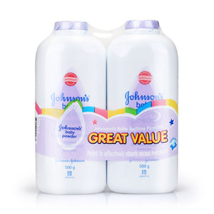 Johnson's Baby Bedtime Powder Twin Pack 500g x2
