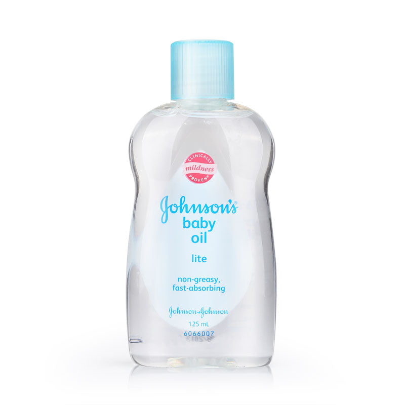 Johnson's Baby Oil Lite 125ml