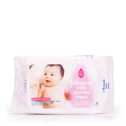 Johnson's Baby Skincare Wipes 20s / 75s