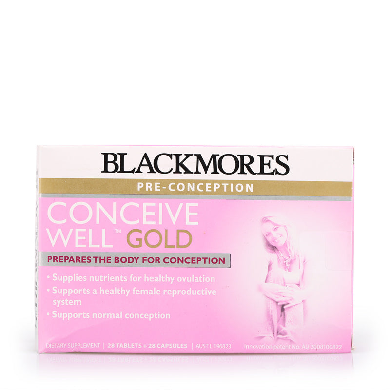 Blackmores Conceive Well Gold 28s+28s 56tabs