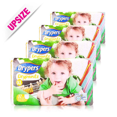 Drypers Drypantz x 4 packs