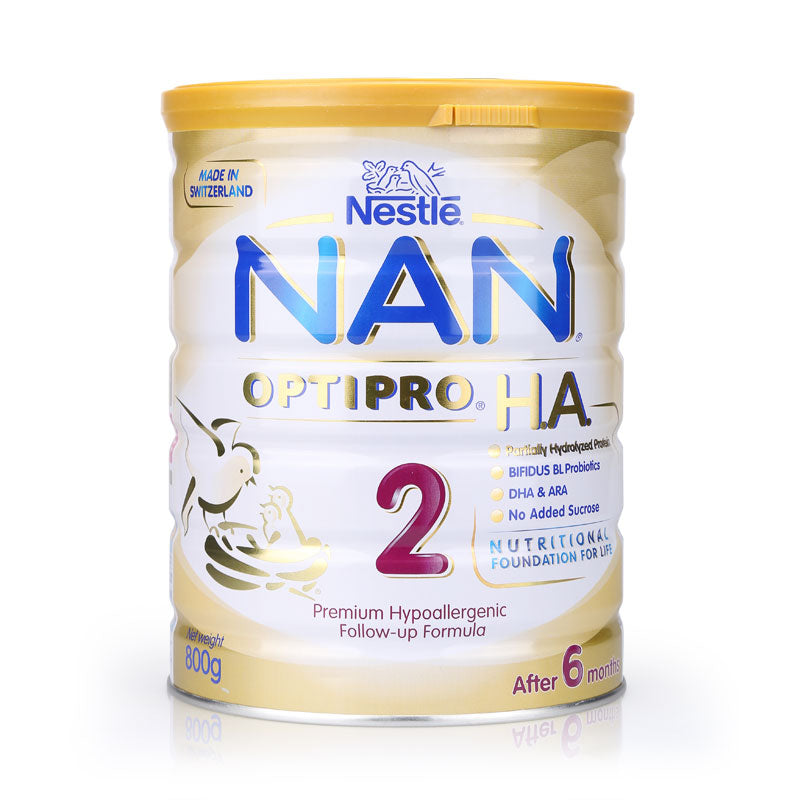 Nestlé® NAN® OPTIPRO® H.A. 2 Follow-up Formula 800g