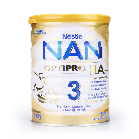 Nestlé® NAN® OPTIPRO® H.A. 3 Growing Up Milk 800g