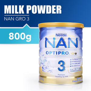 Nestlé® NAN® OPTIPRO® Gro 3 Growing Up Milk 800g