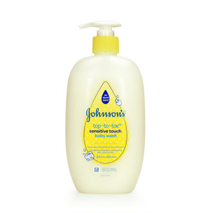 Johnsons Top to Toe Sensitive Touch Baby Wash 500ml