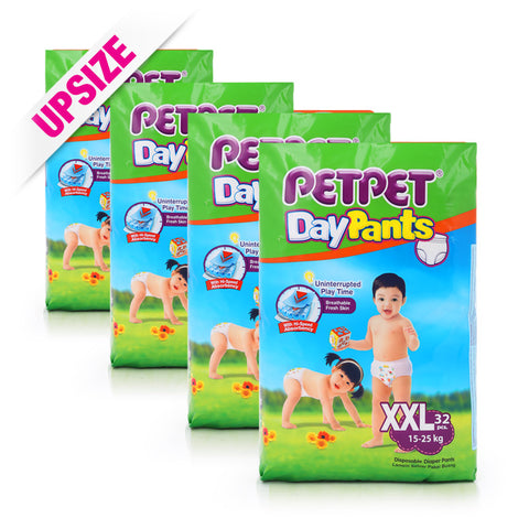 PetPet Day Pants x 4packs