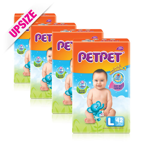 PetPet Tape Diaper x 4packs
