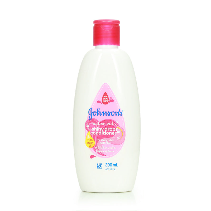 Johnsons Active Kids Shiny Drops 200ml (Shampoo/Conditioner)