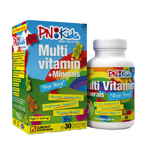 PN Kids MultiVitamin + Minerals 30pcs (Boys/Girls)