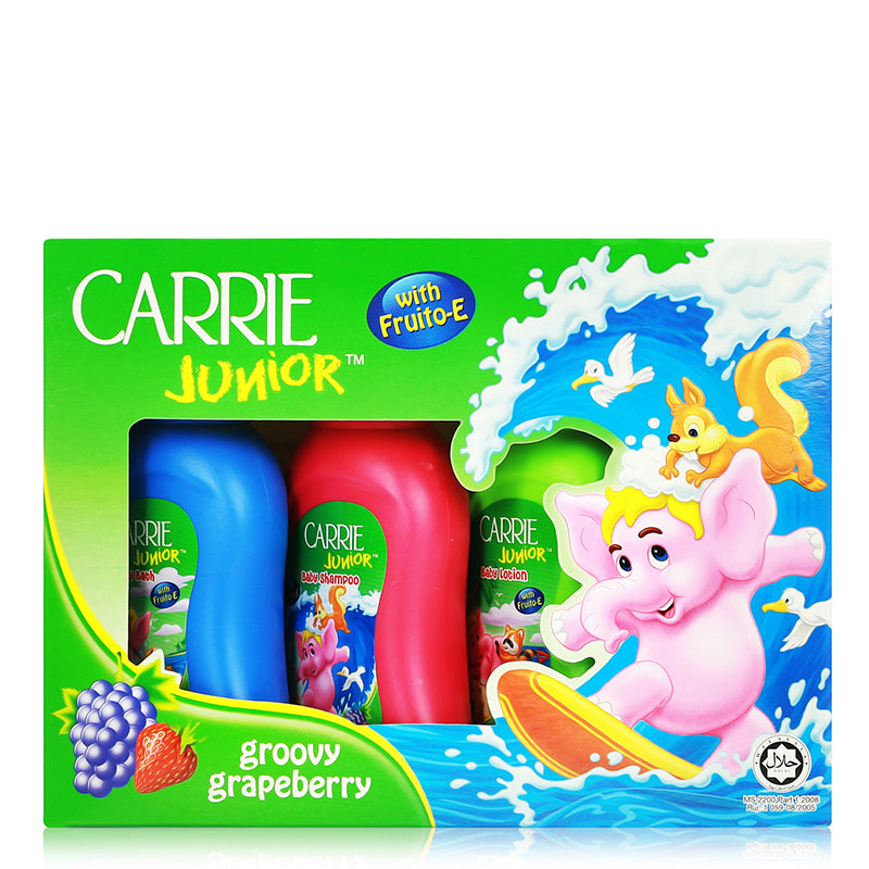 Carrie Junior Mini Gift Pack Groovy Grapeberry 4 pcs