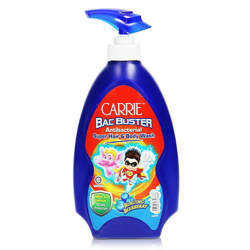 Carrie Bac Buster Antibacterial Super Hair & Body Wash 700g