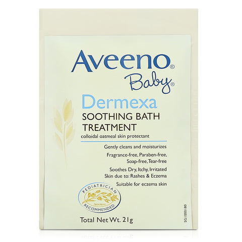 Aveeno Baby Dermexa Soothing Bath Treatment 5x21G