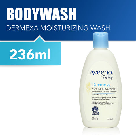 Aveeno Baby Dermexa Moisturizing Wash 236ml