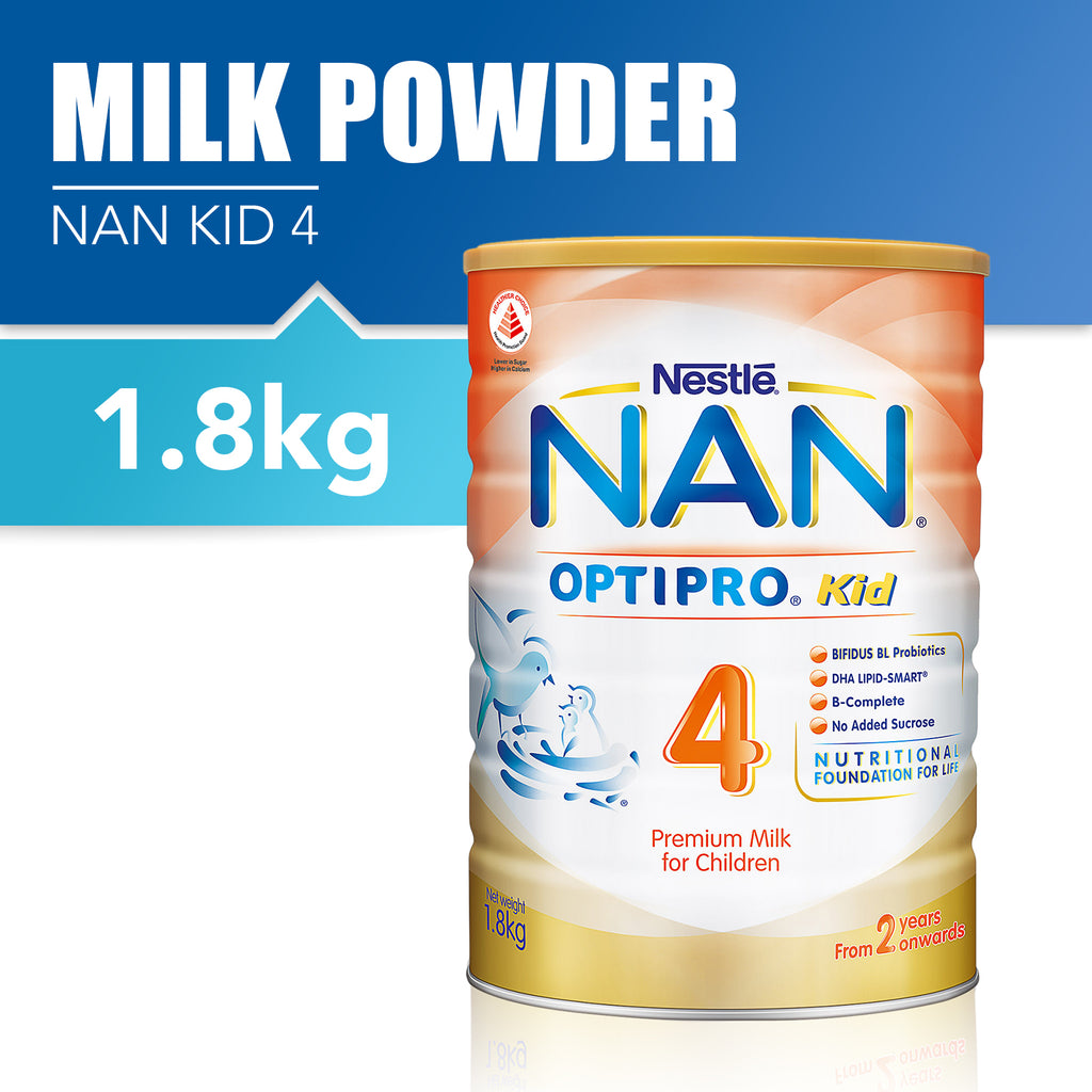 Nestlé® NAN® OPTIPRO® Kid 4 Growing Up Milk 1.8kg