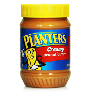 Planters Peanut Butter 510g (Creamy/Crunchy)